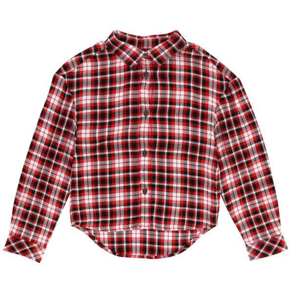6275f17e24183b ZADIG & VOLTAIRE Koszula dziewczęca w kratę   Marki \ ZADIG ...
